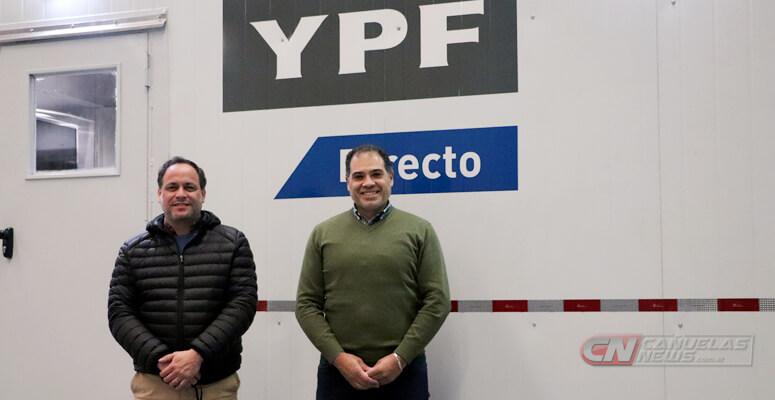 Ignacio Banegas y Roberto Lastra a cargo de la planta en Cañuelas