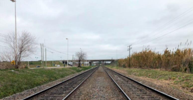 Vías del ferrocarril Roca