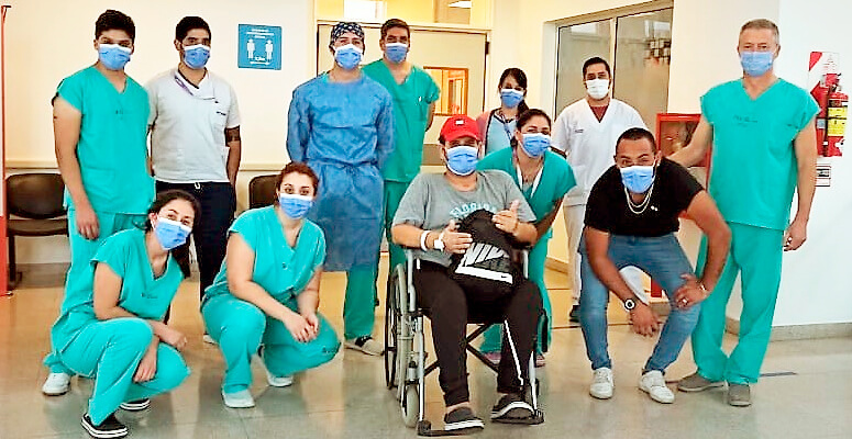 Hospital regional: 60 días de internación por Covid-19 y dos cirugías