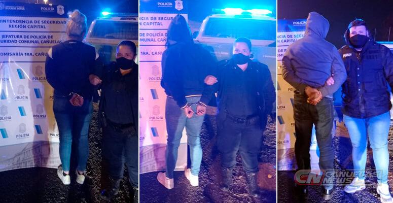 Detenidos tras la persecución