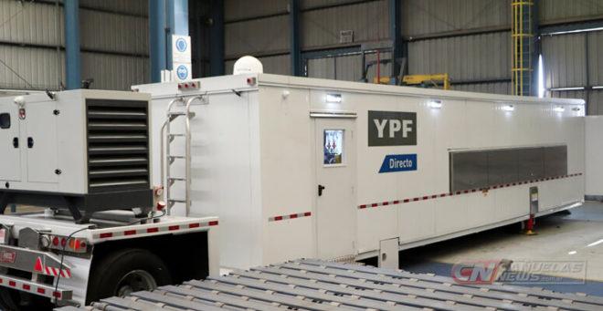 Unidad de abastecimiento para YPF