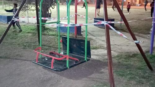 Una nena de siete años muere tras ser golpeada por una hamaca