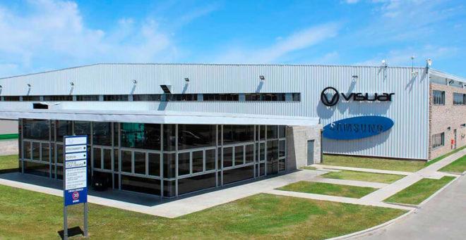 Visuar Samsung invertira en una nueva línea productiva