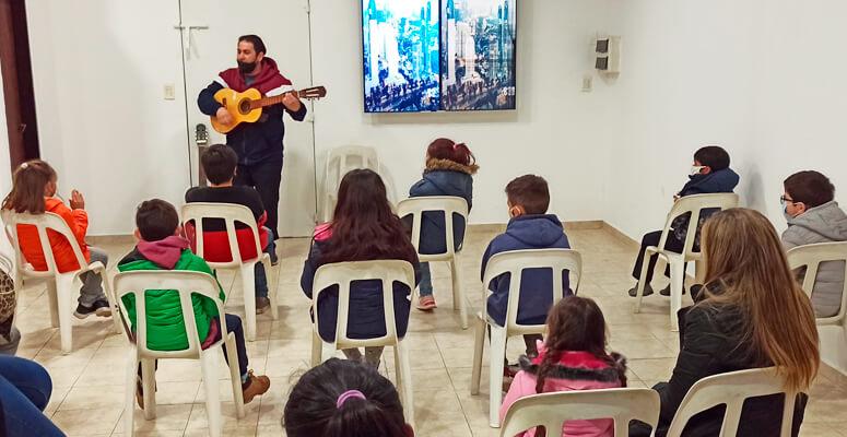 Comenzaron las clases abiertas de música