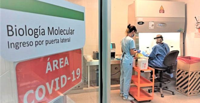 Más de treinta mil testeos analizados en el hospital regional