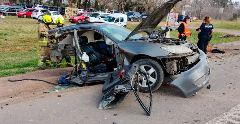 Otro domingo trágico en las rutas de Cañuelas: tres víctimas fatales en accidente vial