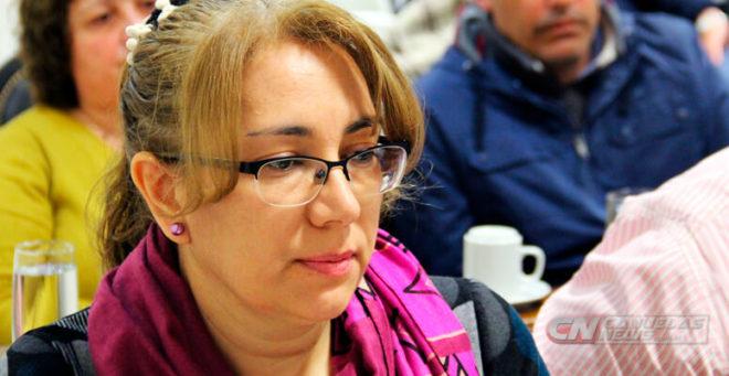 Carolina Torrilla durante su paso por el Concejo Deliberante