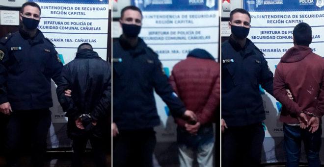 delincuentes detenidos en el peaje