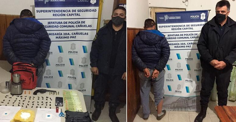 Robó una billetera, allanaron su casa y se encontraron con droga y un arma lista para disparar