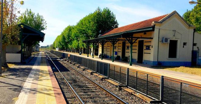 Estación de trenes de Vicente Casares