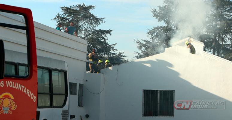 Trabajo de bomberos
