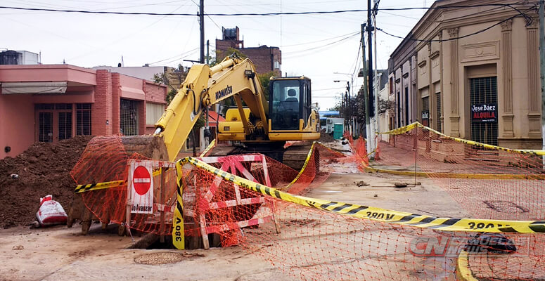 Obras de ABSA en Cañuelas
