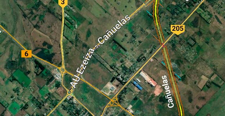 Licitarán obras importantes para la AU Ezeiza-Cañuelas
