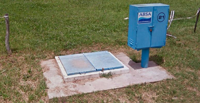 ABSA: habrá baja presión de agua en Cañuelas por tareas de recambio