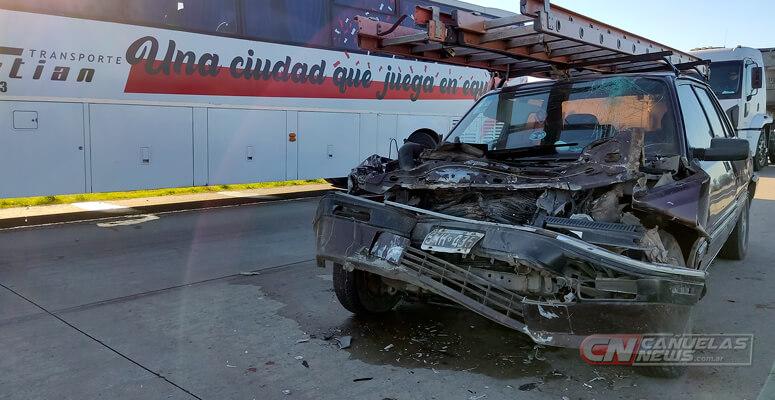 Accidente con heridos leves en Ruta 6