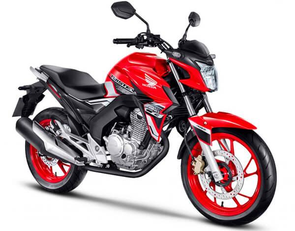 Honda CB 250 Twister roja
