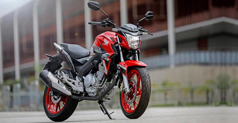 Honda CB 250 Twister.