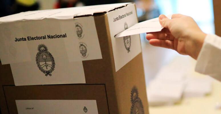 Calles peatonales en lugares de votacion