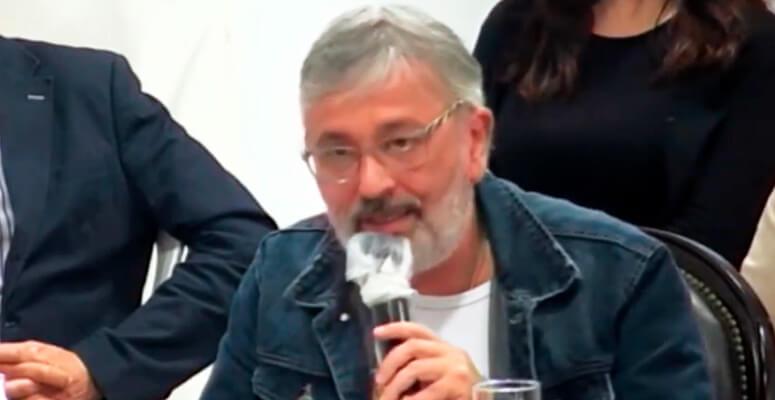 Kike Alcoba, concejal del Frente de Todos