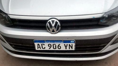 El auto robado en el colegio IMEI fue hallado en La Tablada