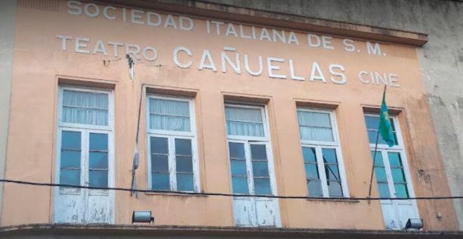 Edificio del Cine Teatro Cañuelas