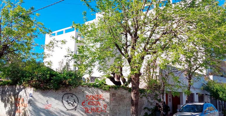 Esquina de 25 de Mayo y Brandsen por donde escapó el ladrón