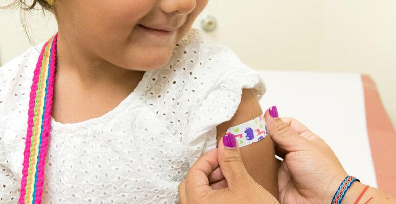 comienza la vacunación a menores de 3 a 11 años