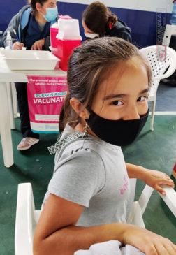 Vacunación de menores contra el coronavirus